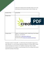 Createz Business Plan