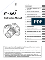 Olympus OM-D EM-1 Manual