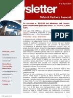 Newsletter T&P N°82