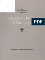 Vaneigem - A Cavalier History of Surrealism