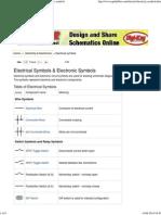 Electrical Symbols _ Electronic Symbols _ Schematic Symbols