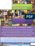 A Presentation on World Wars