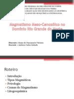 Magmatismo Meso-Cenozóico No Domínio Rio Grande Do Norte
