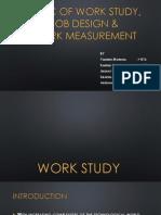 Basic of Work Study