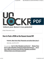 How to Flash a ROM on the Huawei Ascend W1 _ TheUnlockr