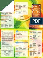 Pedgastrocon 2014 Scientific Programme