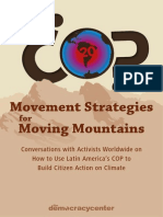 Movement Strategies for Moving Mountains