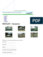 Aquaponia, Módulos Para Montar Um Sistema Aquaponico