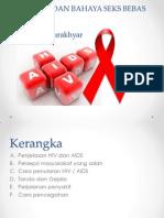 HIV, AIDS Dan Bahaya Seks Bebas