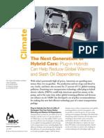 ]NRDC the Next Generation of Hybrid Cars
