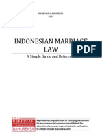 Indonesian Marriage Law - Preview