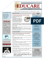 Newsletter Educare Nº 27- Septiembre 2014