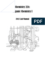 Organic Chemistry lab manual, Chem221_Fall2012_LabManual