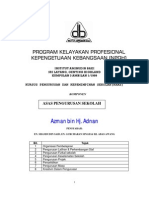 NOTA ASAS PENGURUSAN SEKOLAH - AZMAN