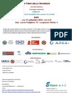 Programma - Fiera 2014