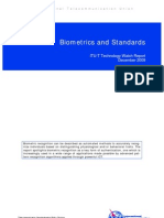 Biometrics and Standards