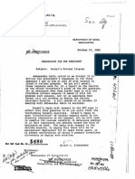 Declassified Papers on US-Israel Nuclear Policy 1969