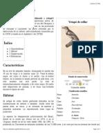 Alectrurus Risora - Wikipedia, La Enciclopedia Libre