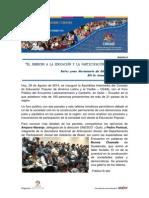 Encuentro Latinoamericano y Caribeño de Educación Popular y Asamblea Intermedia del CEAAL - Boletín Nº 8