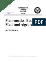 Mathematics, Basic Math and Algebra