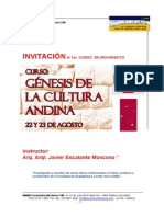 Program a Genesis Cultura and in a 2014