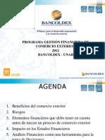 3519 Gestión Financiera en Comercio Exterior Bancoldex Mpiv