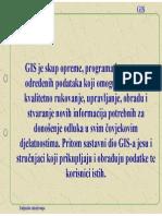 GIS Geoinfarmacijski Sustav Geoinformacijski Sistem-UVOD U GIS