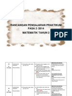 Rancangan Pengajaran Praktikum Fasa 2