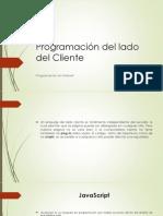 U3 - Programación Del Lado Del Cliente