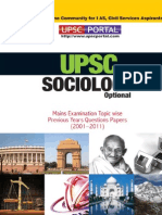 Download UPSC IAS Mains LAST 5 Year Papers Sociology