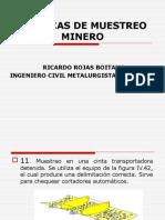 TECNICAS DE MUESTREO MINERO N°2