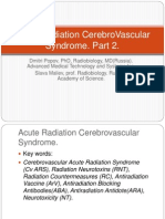 Acute Radiation CerebroVascular Syndrome