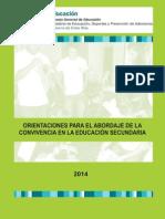 Convivencia Secundaria 1692 Edi 20141