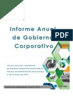 Informe Anual Gobierno Corporativo2013