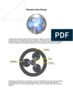 Planetary Gear White Paper