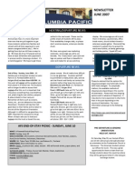 2007 June Newsletter