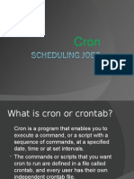 What is Cron or Crontab?
