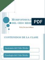 Morfofisiología Del Oído Medio