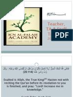 Teacher, TA & Staff Training20142015