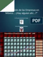 Evolucion Empresas Mexico