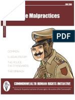 Police Malpractices  (English)