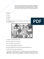 Questões de Física - Saresp