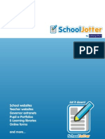 School Jotter Brochure