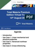 2014.08.14_Total Materia Premium Edition Virtual Training