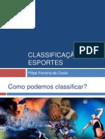 Classificação Dos Esportes