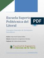 Conceptos Generales Yacimientos Petrolíferos - Felipe España