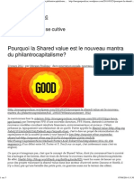 Pourquoi La Shared Value Est Le Nouveau Mantra Du Philantrocapitalisme_ _ Morgan Poulizac