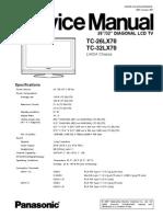 Panasonic Tc 26 32lx70
