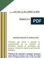 Teoria de La Planificacion Modulo i y II