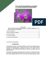 Manual Para El Cultivo de Orquideas